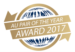 au pair of the year logo
