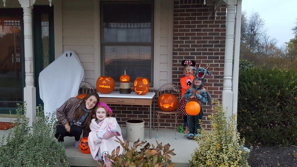 Halloween en famille
