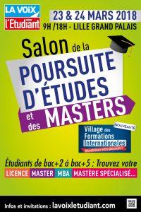 Salons études et master Lille